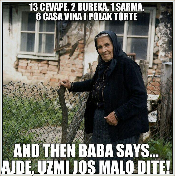haha so true - My family in Croatia!