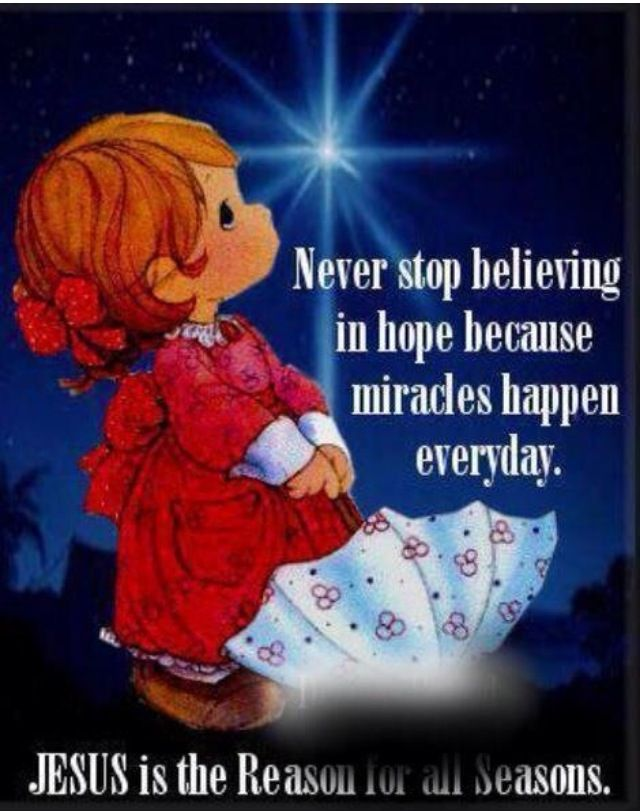 Never Stop Believing In Hope · Christian Spiritual QuotesSpiritual Christmas  QuotesChristmas Thoughts QuotesChristmas Inspirational ...