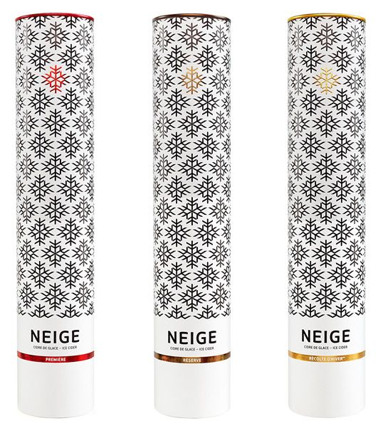 NEIGE - Ice Cider, designed by Chez Valois, Canada