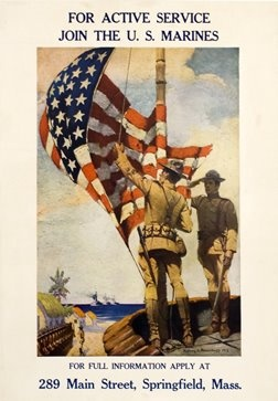 WWI recruiting poster.
