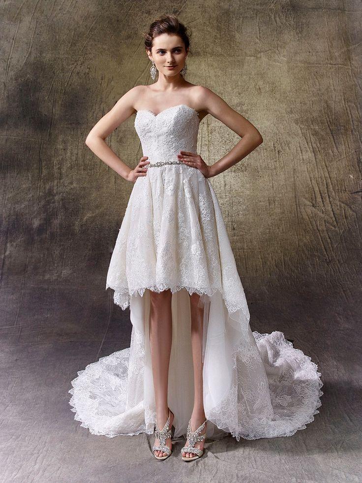 54 best Enzoani Wedding Dresses images on Pinterest | Wedding ...
