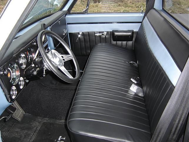chevy truck bench seat ideas