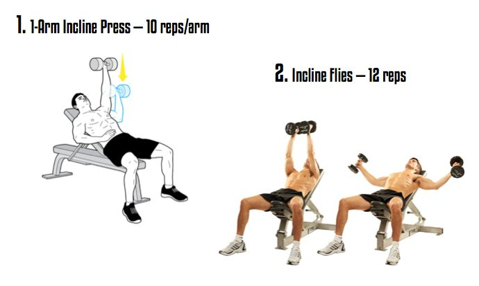 [WOTM, 07/2014] Build A Tank-Like Upper Body With The Chiseled Chest + Triceps Workout — Lean It UP Fitness