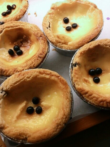 #Portuguese Egg Tart Taken by #Zenfone5 auto, indoor,  punch filter.
