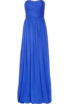 pretty blue bridesmaid dress from J.Crew