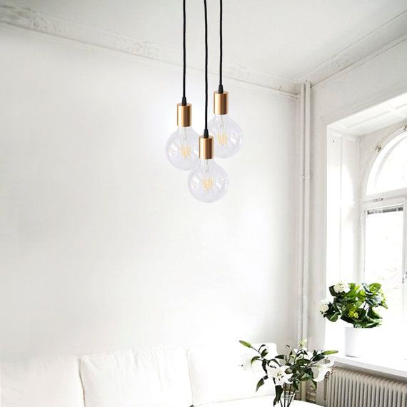 Gold Pendant Light Chandelier
