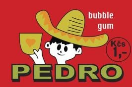 Czech retro bubble gum, first appeared in 1968.