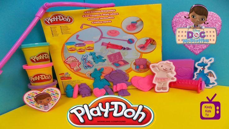 Play Doh. Disney Junior. Doc McStuffins.