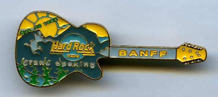 Banff - Hard Rock Cafe Guitar Pin