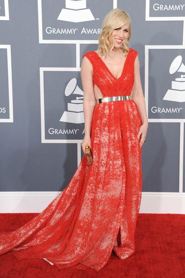 Natasha Bedingfield in Emerson, Grammy Awards 2013
