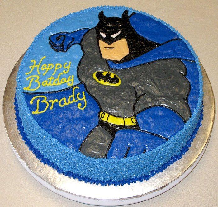 15 best Birthday cakes images on Pinterest Batman birthday cakes