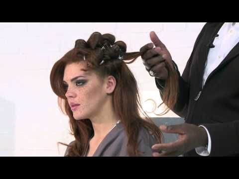 Celebrity Hairstyle Tutorial, with Errol Douglas - Clothes Show TV