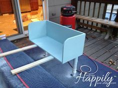 DIY Co sleeper there are enough handy men in my life to make this a reality :)