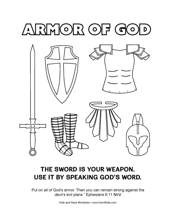 28 best Armor images on Pinterest | Sunday school crafts, Armor of ...