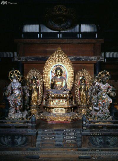 和歌山県 浄妙寺 薬師如来と両脇侍