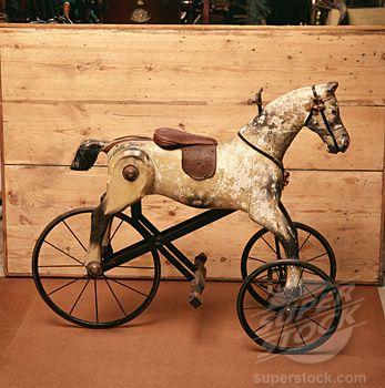 Georgian Rocking Horse  Hall Museum  Washington  USA (2039-543830 © SuperStock)
