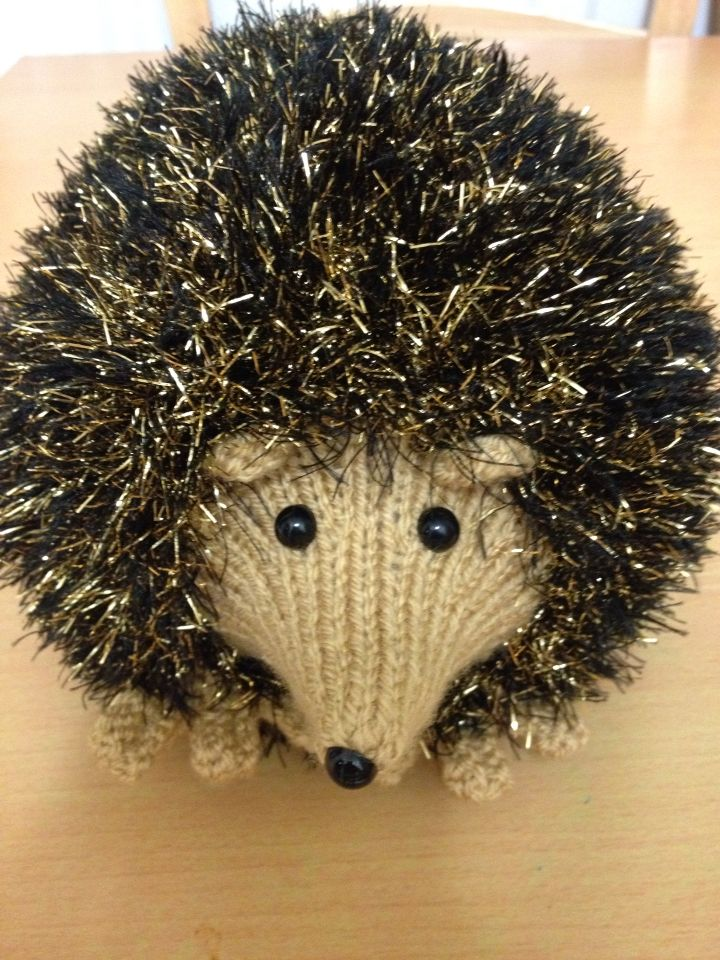 Tinsel Hedgehog Knitting Pattern : 17 Best images about My masterpieces on Pinterest ...