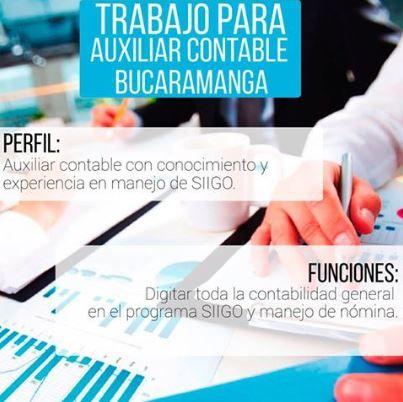 @fundacionsiigo ¡Bucaramanga! Interesados para aplicar a ésta oferta enviar hoja de vida a edselbuque@gmail.com .Revisa más ofertas de empleo disponibles y aplica a la que más se ajuste a tu perfil http://bit.ly/23q9Id1
