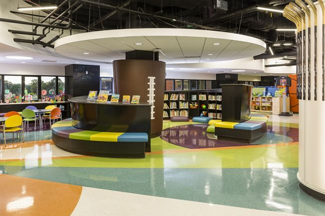 Child Life Zone At St Paul Children S Hospital Library