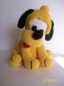 Amigurumis en un Click: Pluto...recargado!!!!