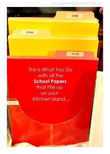 This is What You Do With all the School Paperwork! via-www.organizethewholeshebang.com: Organization Clean, Organization Or, Organizations Ideas, Organization Maybe, Crazy Obsession Organizations, Organizations Paperwork, Organizations Schools, Organization Budget Storage, Kids Organizations