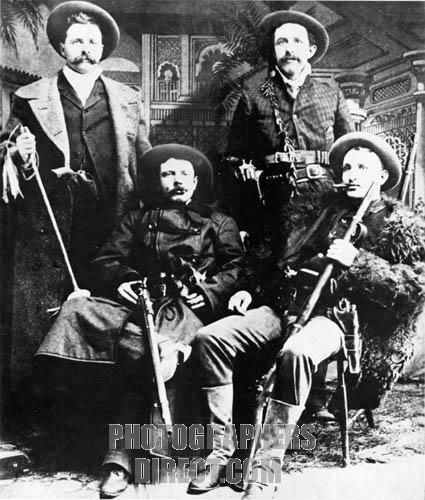 La banda de Jesse James, en 1870