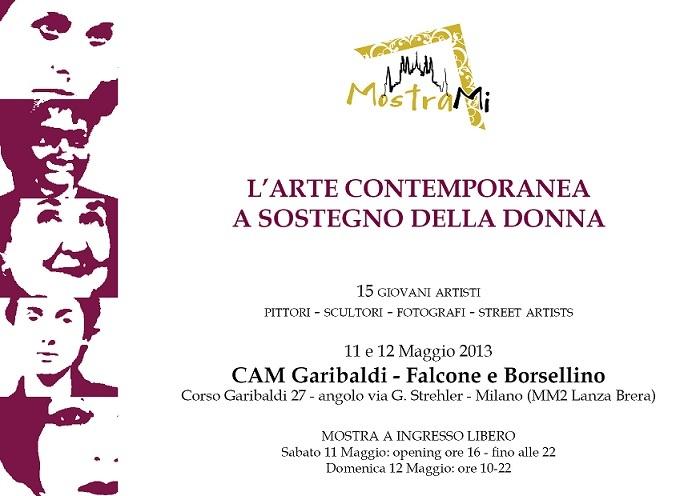 #Mostrami 6 - giovani #artisti per valorizzare la #donna! 11 e 12 Maggio - Milano - http://www.mostra-mi.it/main/?page_id=4768