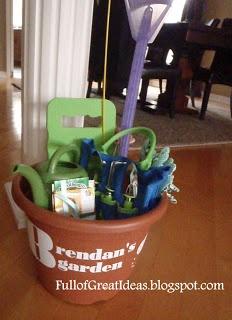Full of Great Ideas: Little Gardner Gift Idea