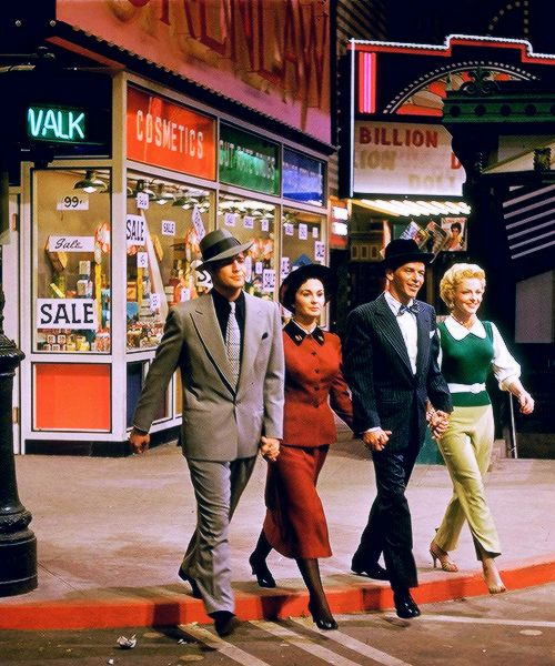Guys And Dolls : Marlon Brando, Jean Simmons, Frank Sinatra and Vivien Blaine