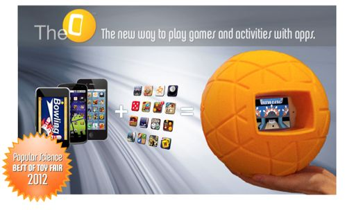 TheO Ball, accessoire pour iPhone