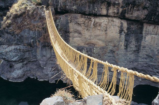 inca rope bridge - photo #13