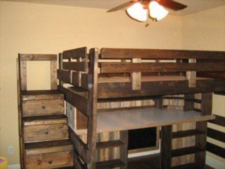 41 best images about loft bed ideas on pinterest loft for Case loft