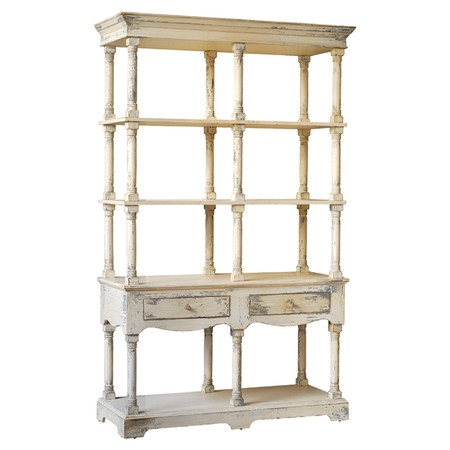 love this shelf would be so pretty in a bedroom or kitchen