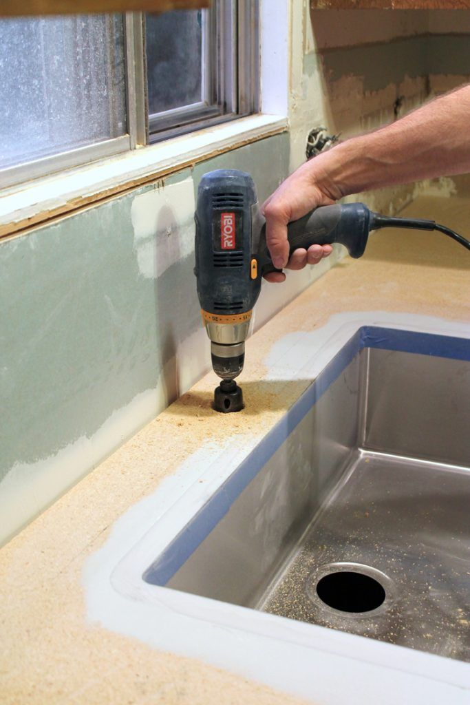 An Undermount Sink in Laminate Countertops | Formica ...