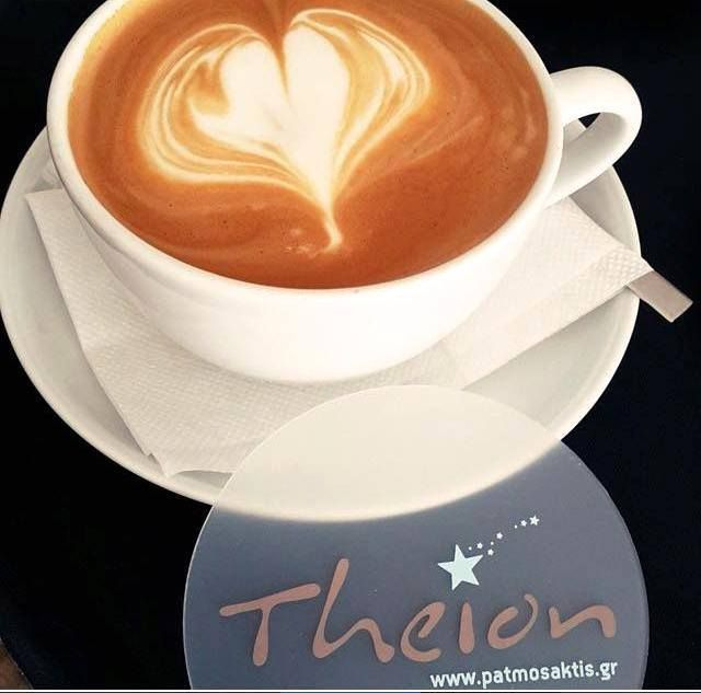 You need some love to make it through the day! #patmosaktis #theionbar #coffeetime  Photo credits: Ισιδώρα Κρικρή