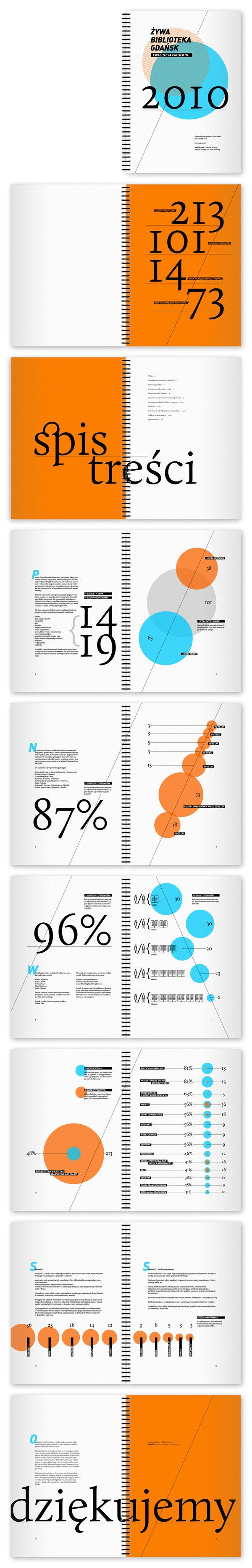 human library gdańsk 2010: identity, infographics, www by numalab , via Behance
