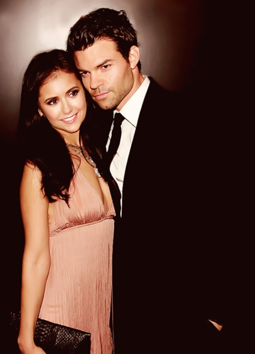 Nina Dobrev and Daniel Gillies