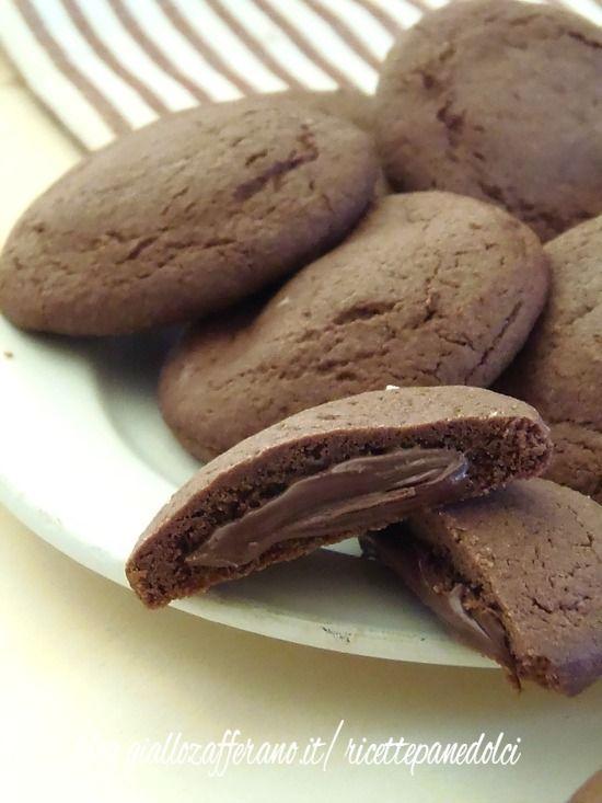 Biscotti Cremosi alla Nutella-Simil Grisbì