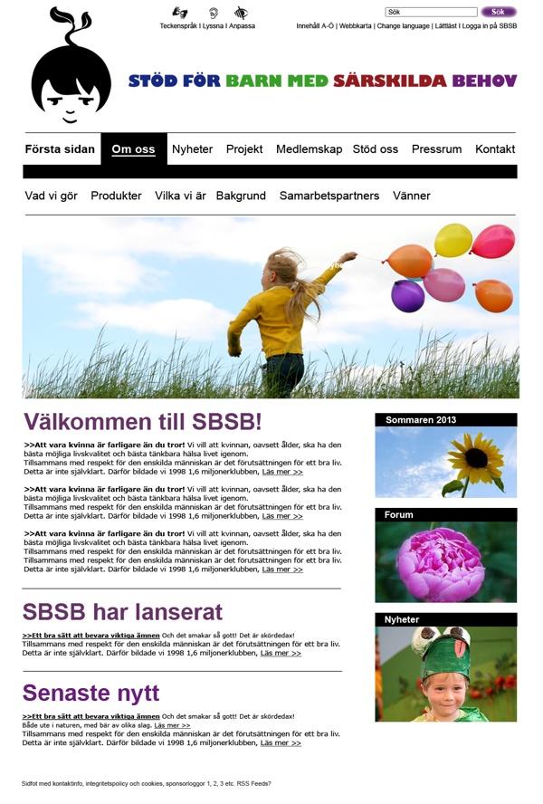 Empower Special Needs Children by Sabina Wroblewski Gustrin, via Behance