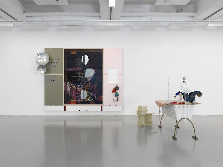 Helen Marten, Parrot Problems, 2014, installation view, Fridericianum, Kassel