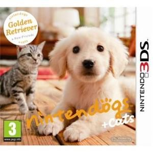 Nintendogs and cats for 3DS. I love this game!!
