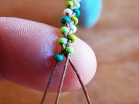 Live In Art: Braided Bead Jewelry: DIY