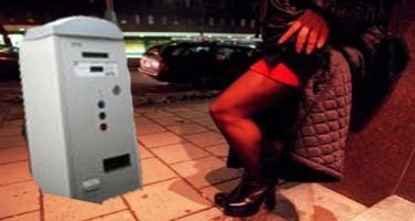 The German city of Bonn introduced a parking meter for prostitutes Monday, requiring street sex workers to pay $8 in tax per night to carry on their trade.