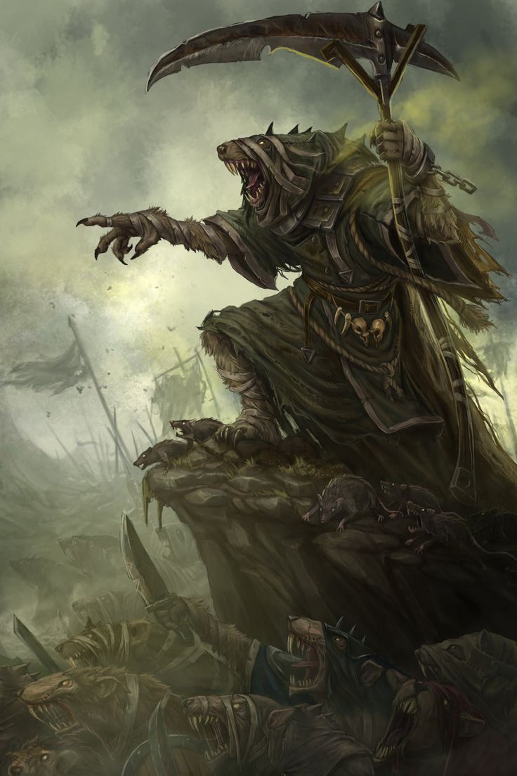 Skaven by baklaher   Creatures from Dreams