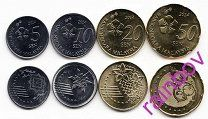 Малайзия. Набор 4 монеты 2014 года. aUNC.  66 - 175 р.   Предлагаю ознакомиться со всеми моими лотами на этой торговой площадке на... Все товары продавца(2742) или Магазин: РАДУГА НУЖНЫХ ВЕЩЕЙ Удачных Вам покупок и торгов!Малайзия
