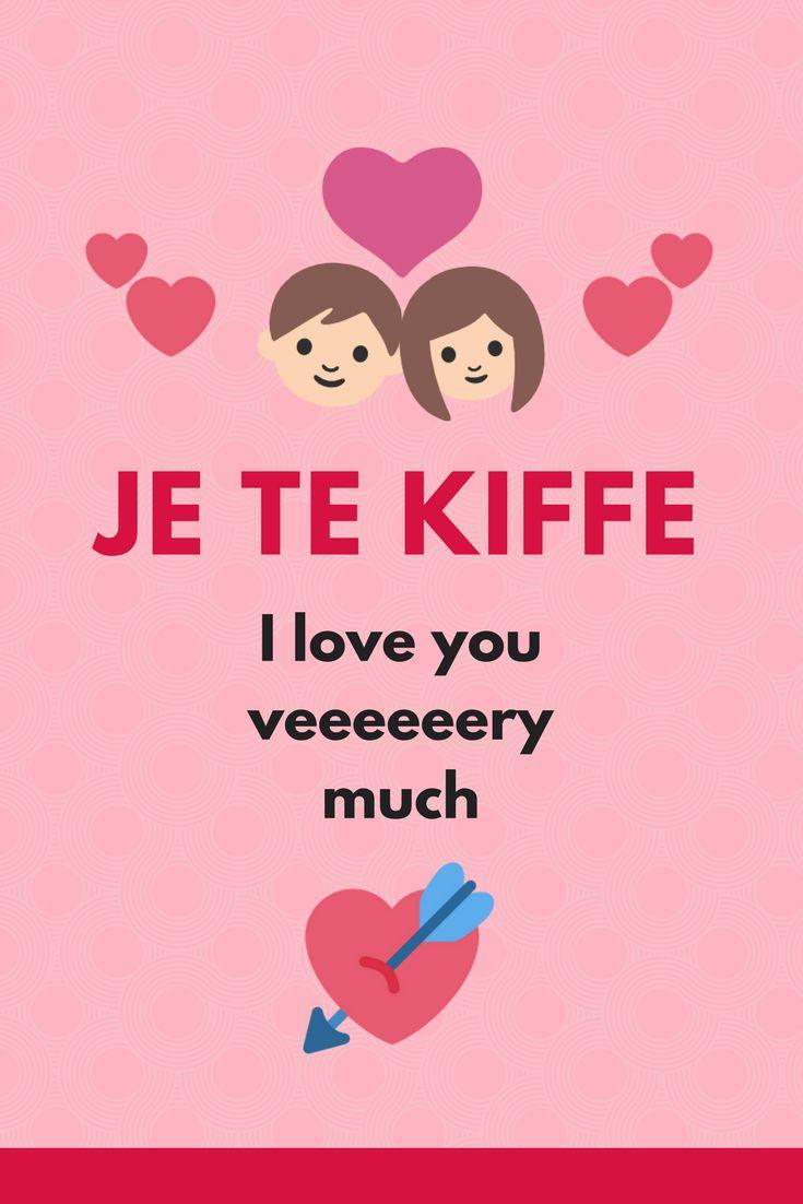French Slang - Je te kiffe