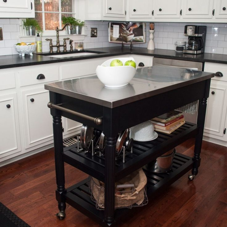 Kitchen Islands For Small Kitchens: 25+ Best Ideas About Mobile Kitchen Island On Pinterest