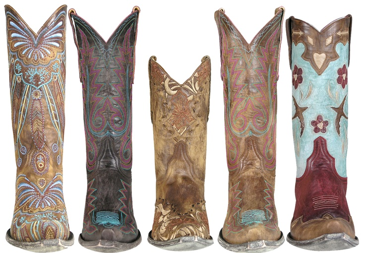 Five new boots just in from @Old Gringo Boots - we love all the colors!