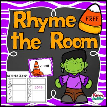 *FREE* Rhyme the RoomThis is part of my FREEBIE promotion that is running through November.  If I have 30 or more pieces of feedback on this item there will be a new freebie on October 23!  So please leave feedback!  This center is a rhyming version of write the room.