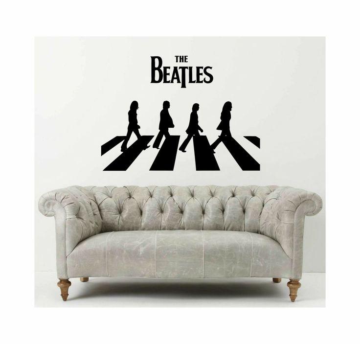 1000 id es propos de mur de musique sur pinterest for Abbey road salon